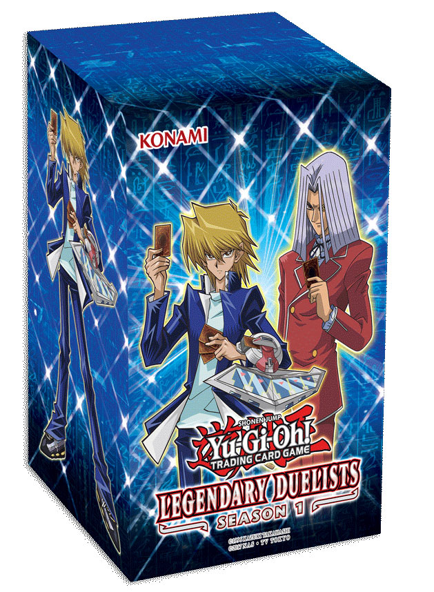 Yu-gi-oh! Tcg: Legendary Duelists Season 1 Box Display (8)