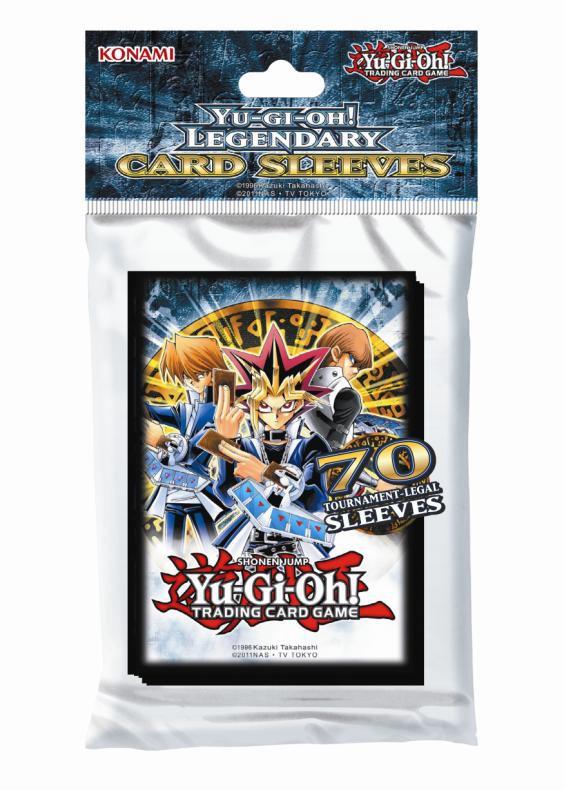 Yu-gi-oh! Tcg: Legendary Sleeves Pack (70) Box Front