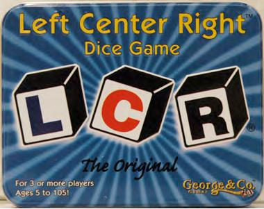 L-c-r: Deluxe Metal Tin Edition Box Front