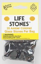 Life Stones: Glass Stones Amber (20) Box Front