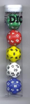 Opaque: Triantakohedron D30 Assortment (5) Box Front