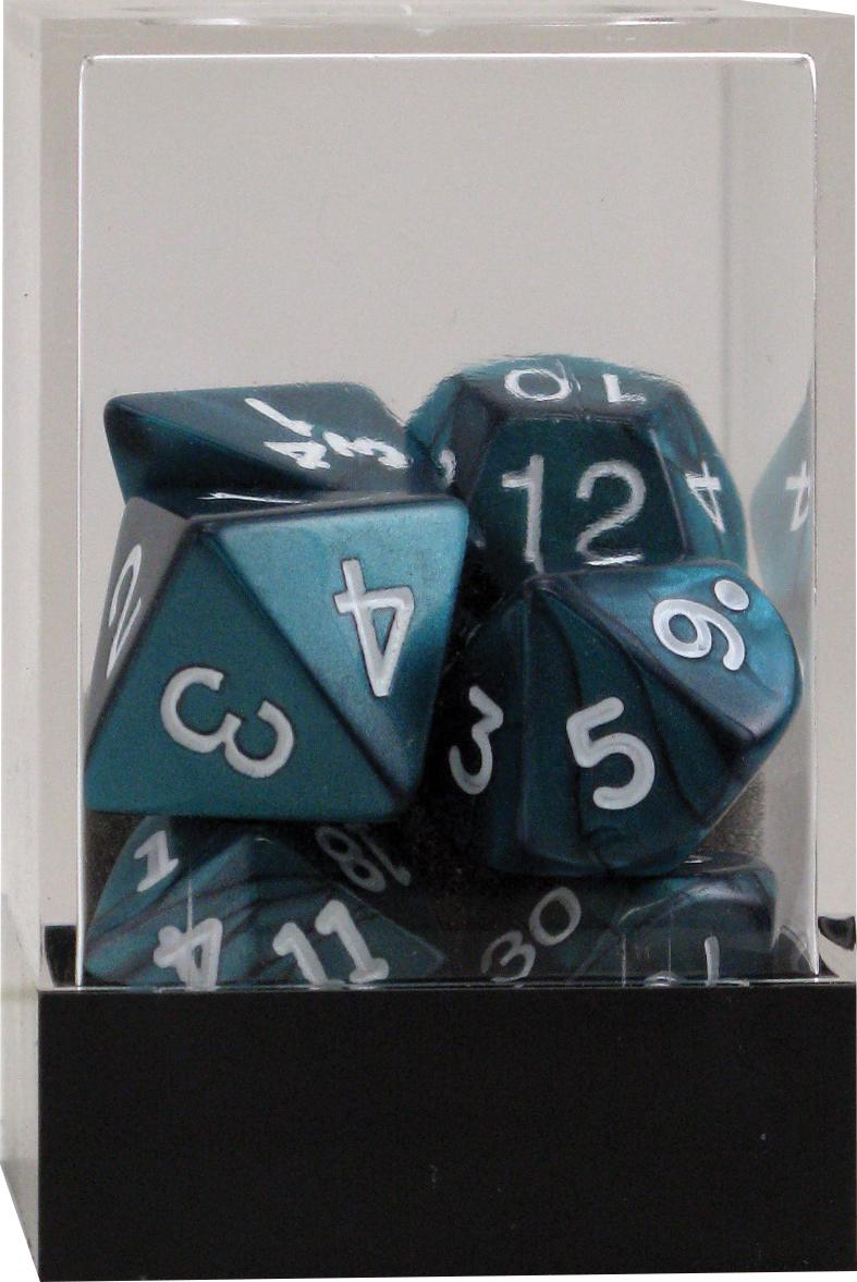 Pearl: Poly Emerald Assortment (10)(plastic Box) Box Front