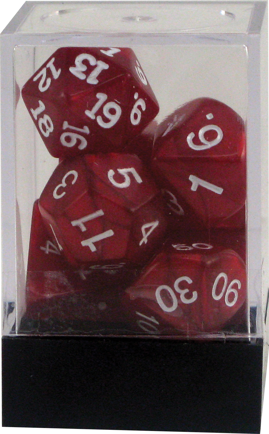 Pearl: Poly Red Assortment (10)(plastic Box) Box Front