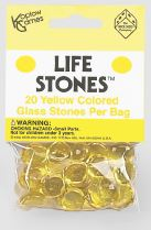 Life Stones: Glass Stones Yellow (20) Box Front