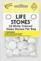 Life Stones: Glass Stones White (opaque)(20) Box Front