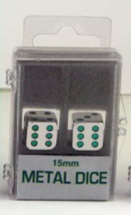 Metal: 15mm Green Pips Box Front