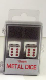 Metal: 15mm Red Pips Box Front