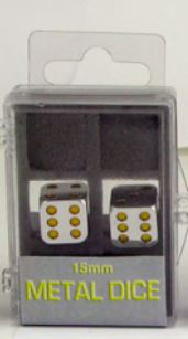 Metal: 15mm Yellow Pips Box Front