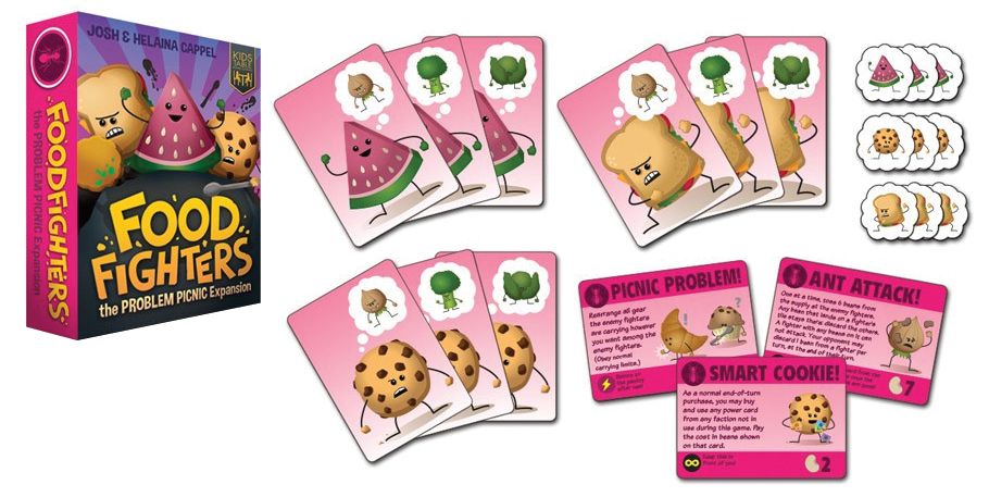 Foodfighters: Problem Picnic Faction Expansion Box Front