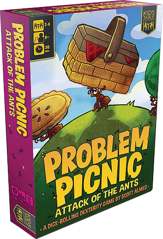 Problem Picnic: Attack Of The Ants Box Front