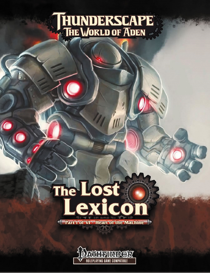 Pathfinder Rpg: Lost Lexicon Part 1: Heart Of The Machine Box Front