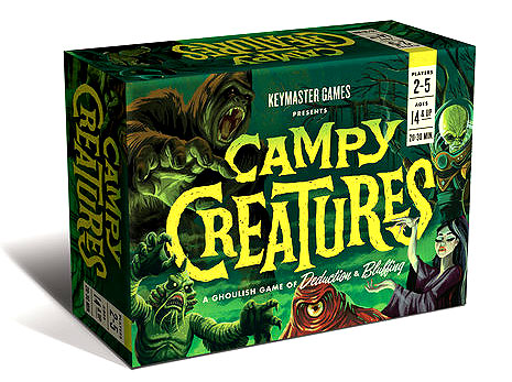 Campy Creatures Box Front