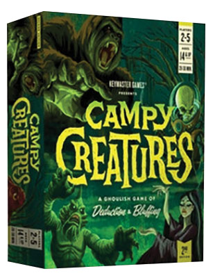 Campy Creatures 2nd Edition Game Box