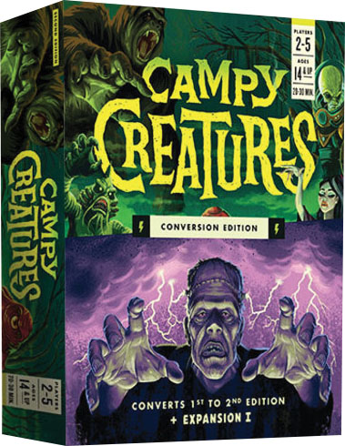 Campy Creatures: Conversion Edition Game Box