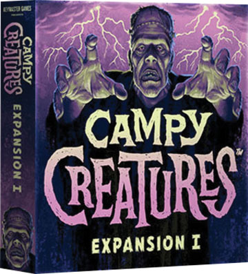 Campy Creatures: Expansion I Game Box
