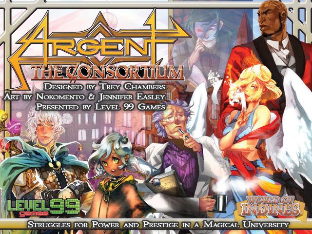Argent: The Consortium Core Game Box Front