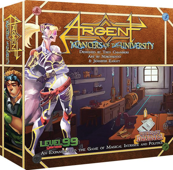 Argent: Mancers Of The University 2nd Edition Box Front