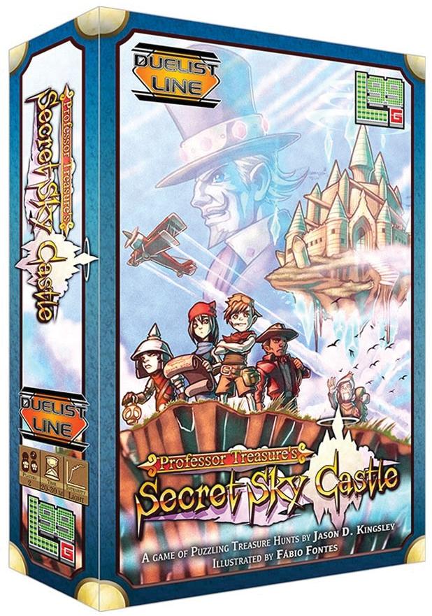 Professor Treasure`s Secret Sky Castle Expansion Box Front