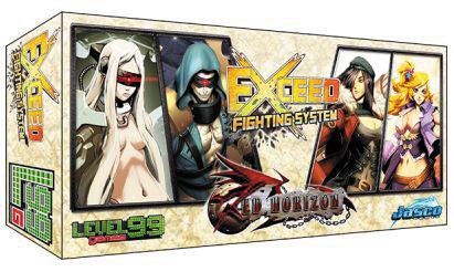 Exceed: Red Horizon - Eva & Kaden Vs Lily & Miska Box Front