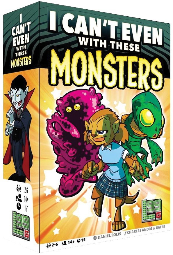 I Can`t Even With These Monsters Box Front