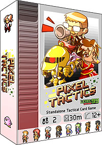 Pixel Tactics 1 Box Front