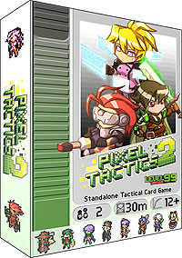 Pixel Tactics 2 Box Front
