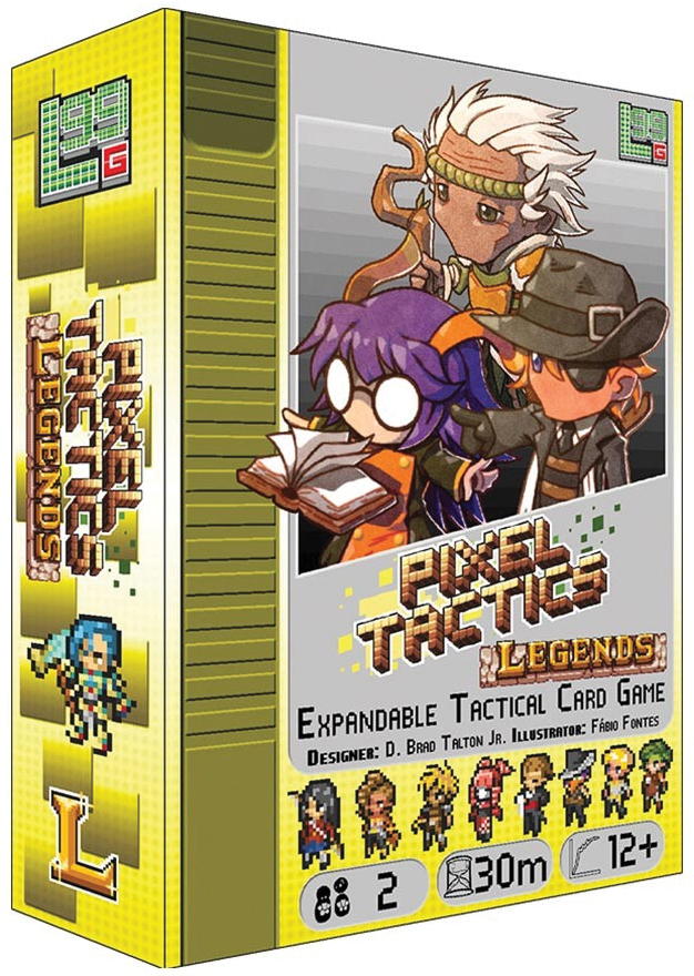 Pixel Tactics: Legends Expansion Box Front