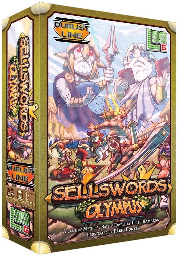 Sellswords: Olympus Box Front