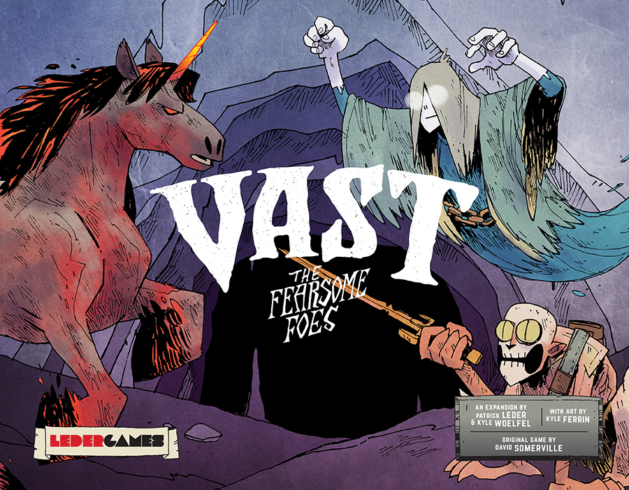 Vast: The Crystal Caverns Fearsome Foes Expansion Pack Box Front