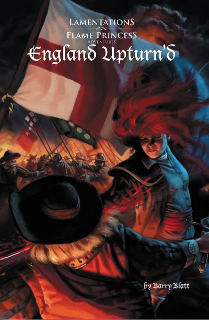 Lamentations Of The Flame Princess Rpg: England Upturn`d Box Front