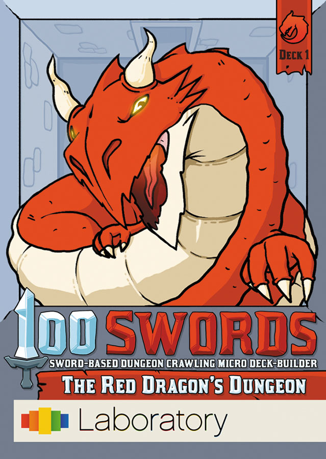 100 Swords: The Red Dragon`s Dungeon Box Front