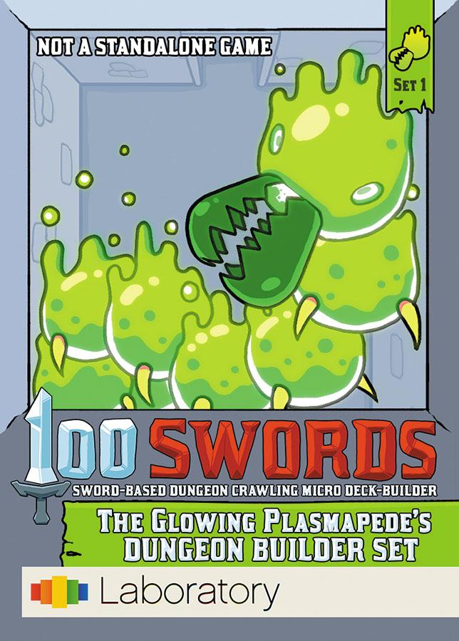 100 Swords: The Glowing Plasmapede`s Dungeon Builder Set Box Front