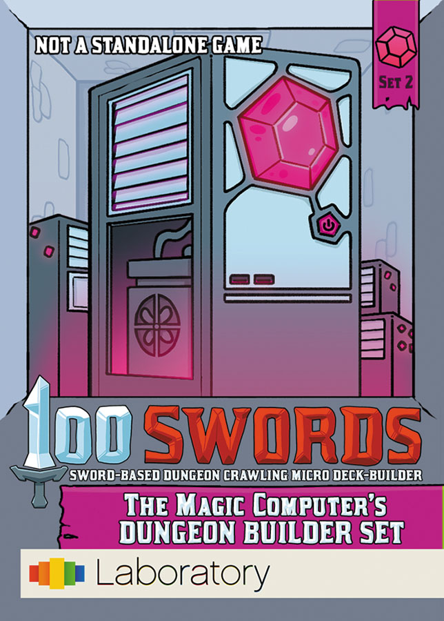 100 Swords: The Magic Computer`s Dungeon Builder Set Box Front