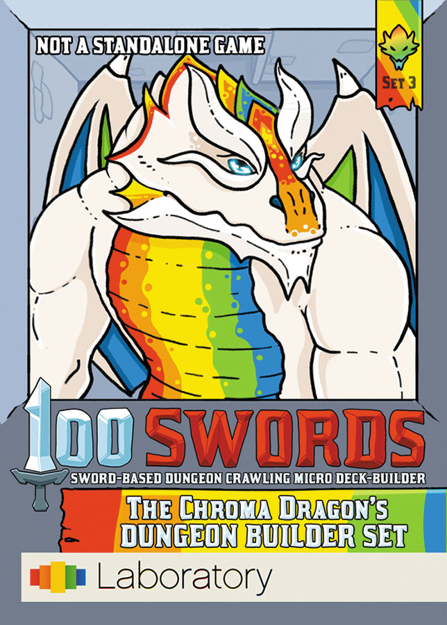 100 Swords: The Chroma Dragon`s Dungeon Builder Set Box Front