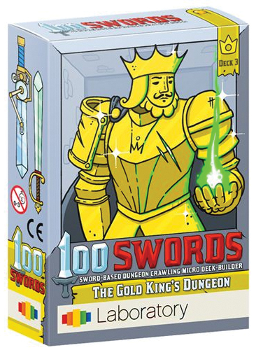 100 Swords: The Gold King`s Dungeon Box Front