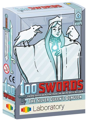 100 Swords: The Silver Queen`s Dungeon Box Front