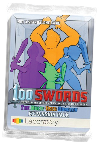 100 Swords: The Multi-user Dungeon Expansion Pack Box Front