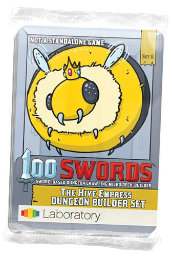 100 Swords: The Hive Empress Expansion Pack Box Front