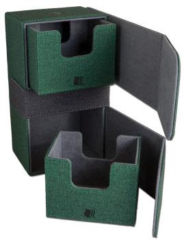 Legion Convertibles Dual Green Deckbox Game Box