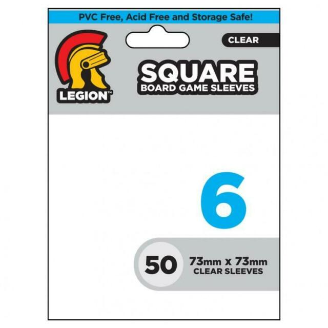 Board Game Sleeves: Square (50)