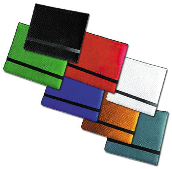 Dragon Hide 12 Pocket (3x4) Binder Grey Game Box