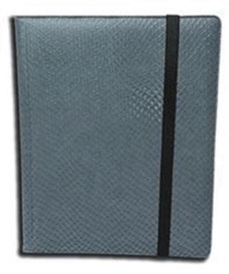 Dragon Hide 4 Pocket Binder Grey Box Front