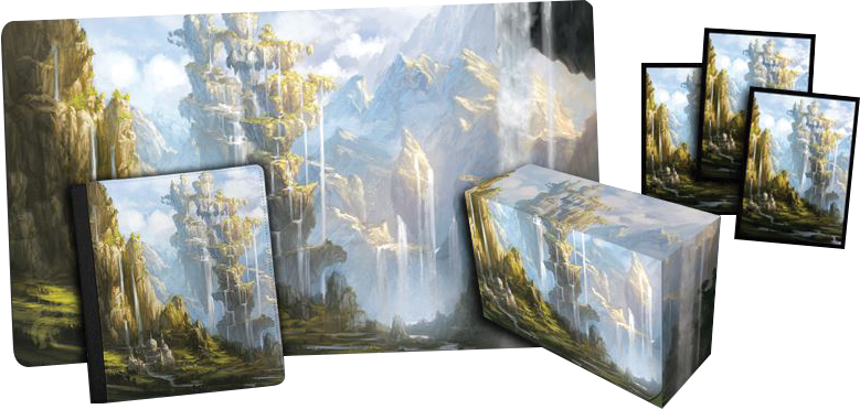 Veiled Kingdoms Oasis 2x2 Binder Box Front