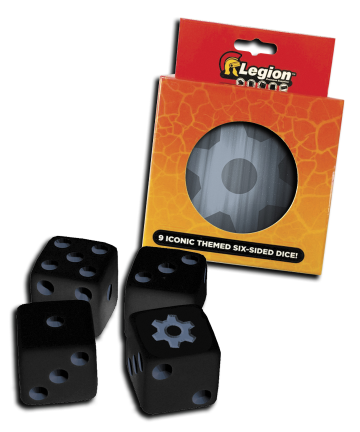 Iconic Dice D6 Tin (9) Gear Box Front
