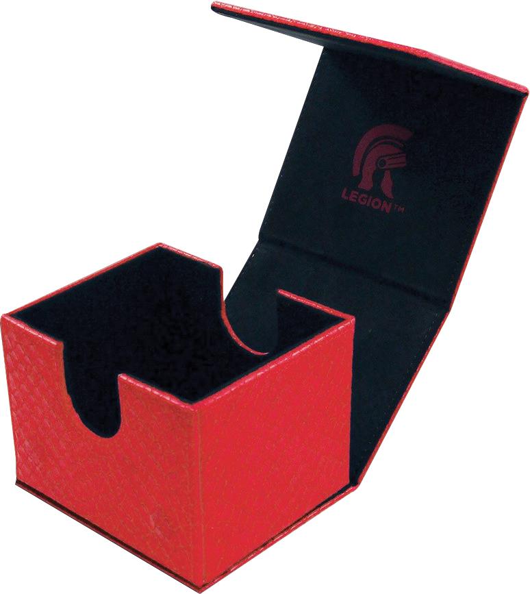 Dragonhide Hoard V2 Deck Box Red Box Front