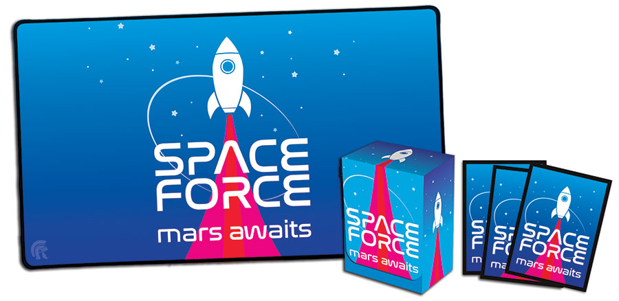 Space Force Sleeves (50) Game Box