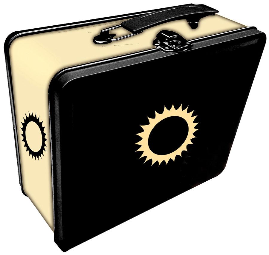 Tin: Iconic Sun Box Front
