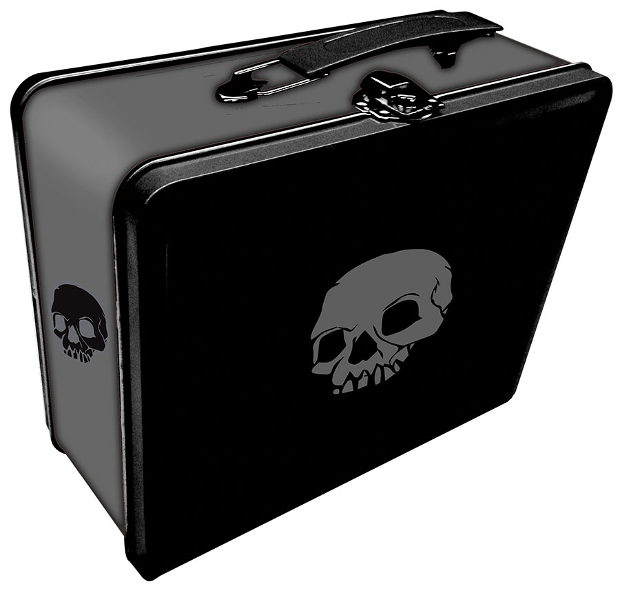 Tin: Iconic Skull Box Front