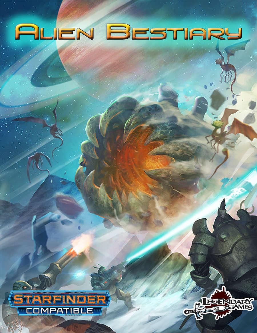 Alien Bestiary (starfinder) Game Box