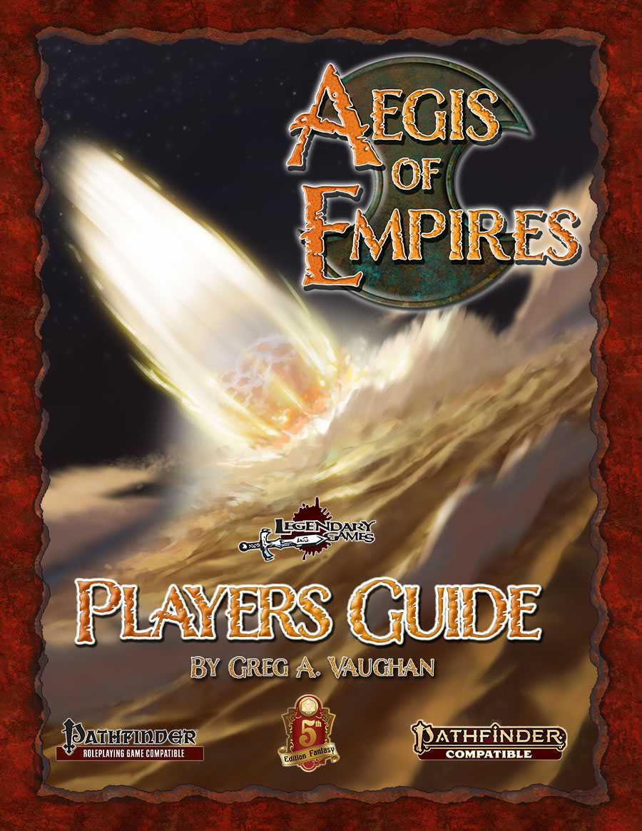 Aegis Of Empires Rpg: Player`s Guide